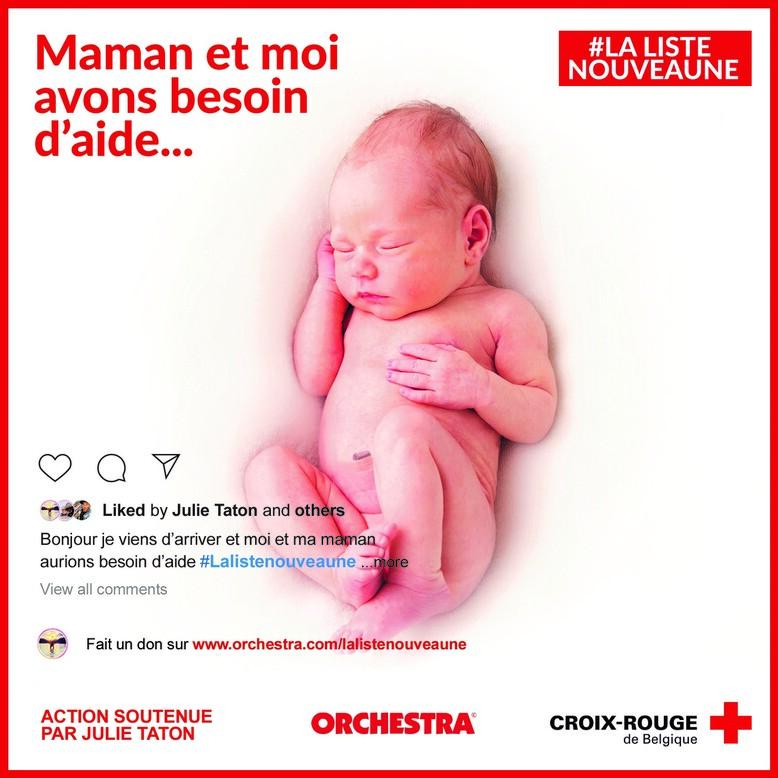 Don pour la Croix-Rouge